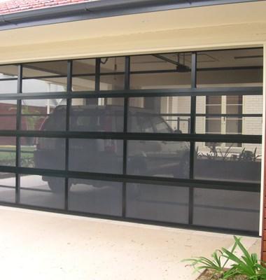 Selections Designer Stainless Steel Mesh Sectional Door