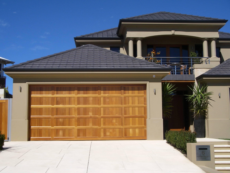 Danmar Classic Panel & Danmaru0027s Classic Panel Solid Cedar Garage Door | Best Doors