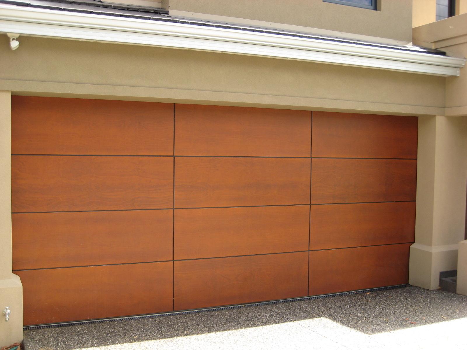 Ply Panel Doors : The danmar ply panel timber garage door best doors