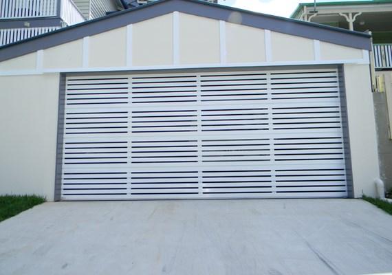 Selections Aluminium Slat 65 Sectional Garage Door | Best Doors
