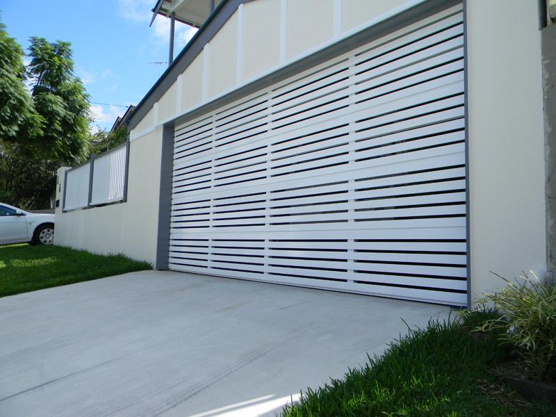Selections Aluminium Slat 65 & Selections Aluminium Slat 65 Sectional Garage Door | Best Doors