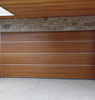 The Danmar Cedar Panel 86 Quality, Western Red Cedar Garage Door