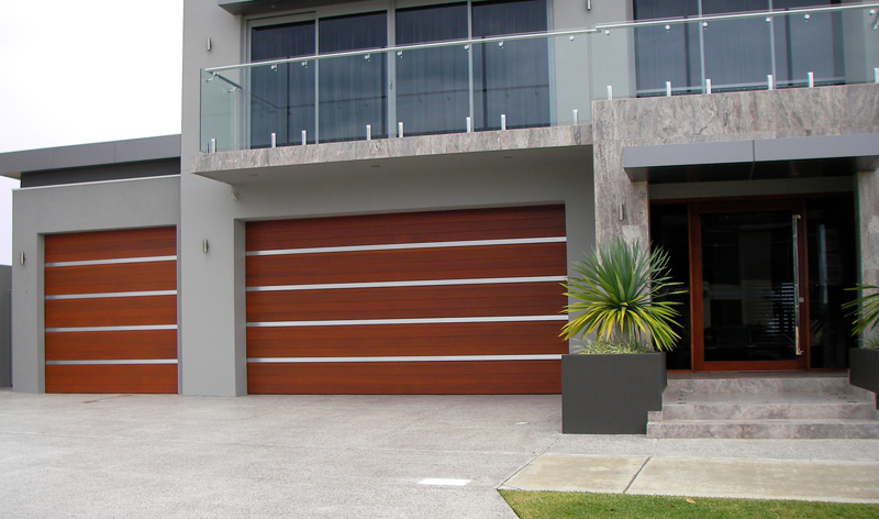 The Danmar Cedar Panel 86 is a natural timber garage door constructed of 86mm horizontal Western Red Cedar lining boards with a choice of Vee-Joint or ... : danmar doors - pezcame.com