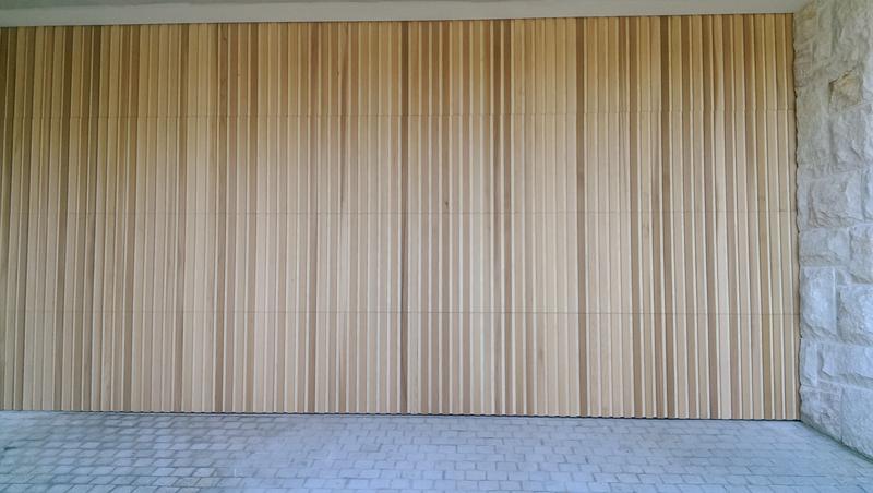 The Danmar Verti Panel Timber Garage Door Best Doors