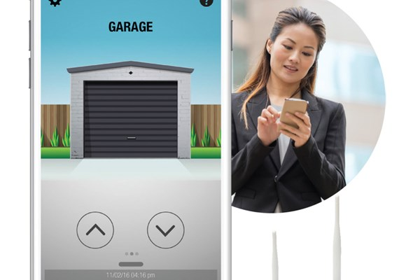 B Amp D Smart Phone Control Kit For Sectional Doors Best Doors